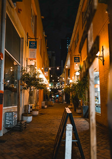Alleyway in Perth City - Night