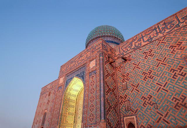 ABM (Another Blue Monday) / Mausoleum of Khoja Ahmed Yasawi, Turkistan (Unesco world heritage),  Kazakhstan