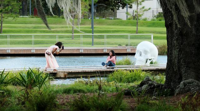 Capturing a visit to the Bestoff Sculpture Garden, New Orleans