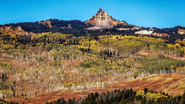 Castle Peak in Colorado