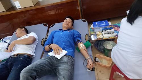 tham gia hiến máu