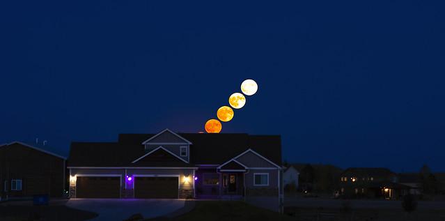 Hunter's Moon Deep Blue Hour