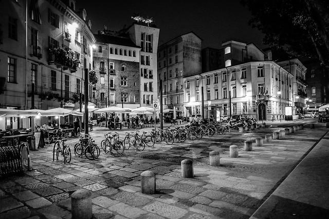 Torino by night, Italy