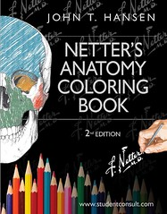 Netter's Anatomy Coloring Book: with Student Consult Access (Netter Basic Science) 2nd Edition