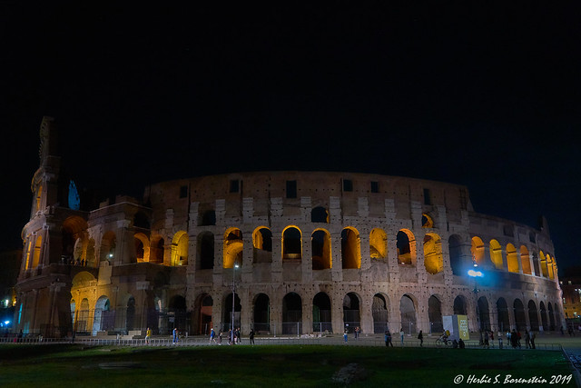 Coliseum in a softer light.