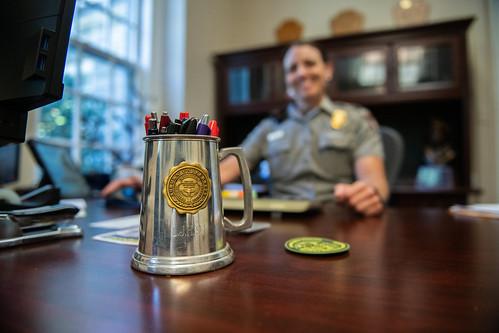 A mug with the Auburn seal.