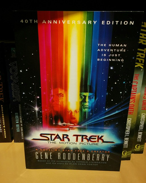 Star Trek: The Motion Picture, 49th Anniversary Edition #toronto #books #sciencefiction #startrek #sttmp #startreki #generoddenberry #alandeanfoster