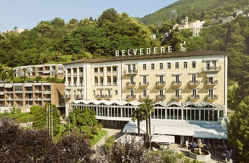 Belvedere Hotel. Photo courtesy of the hotel. From History Comes Alive at Locarno's Belvedere Hotel