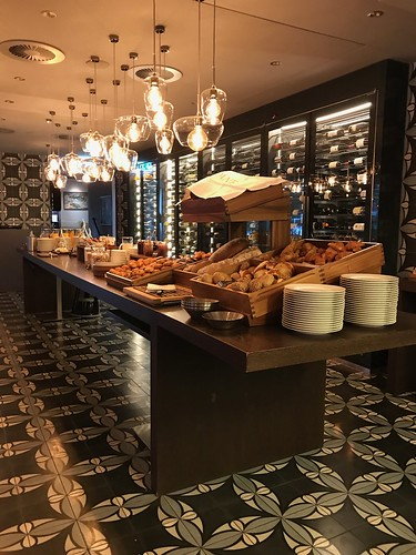Incredible Freshly Baked Breads at Breakfast Buffet. From History Comes Alive at Locarno's Belvedere Hotel