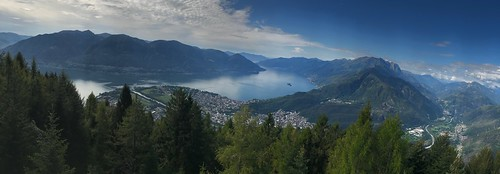 View of Locarno from Cardada. From History Comes Alive at Locarno's Belvedere Hotel