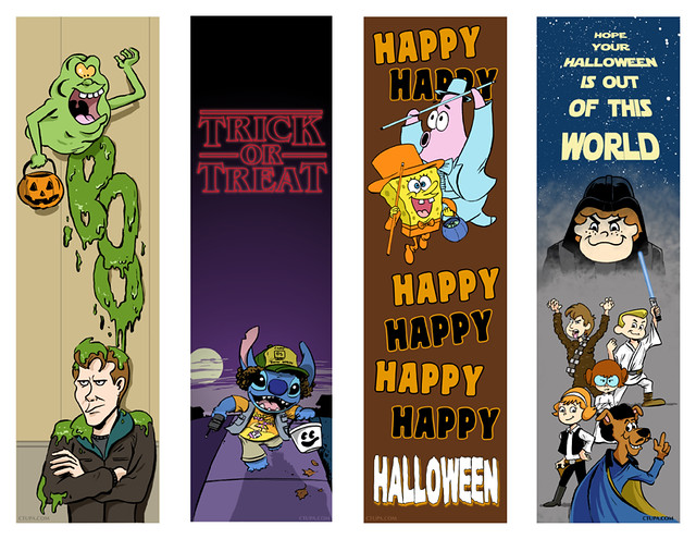 Tupa_Halloween_Bookmarks