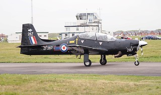 RAF Shorts Tucano T1 72 Flight Training Sqn ZF287 RAF Linton-on-Ouse (2)