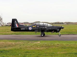 RAF Shorts Tucano T1 72 Flight Training Sqn ZF172 RAF Linton-on-Ouse (2)