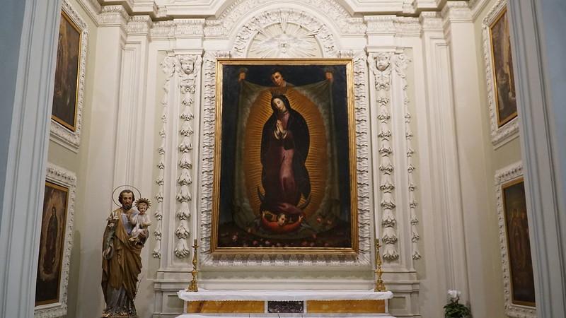 400 años de presencia en Roma - Bendición de la nueva capilla de Guadalupe
