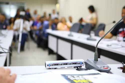 Audiência pública para discutir sobre a privatização do metrô de Belo Horizonte/Contagem e os impactos no transporte público no município - Comissão de Desenvolvimento Econômico, Transporte e Sistema Viário