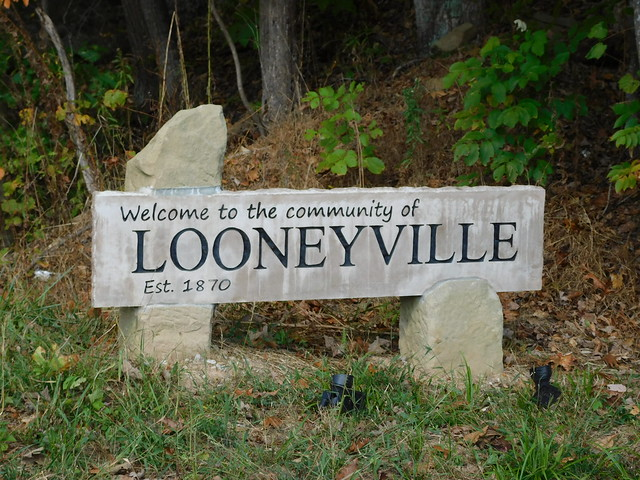 Welcome to Looneyville, WV