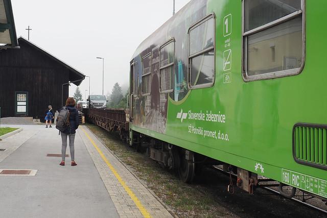 Not our train, Slovenia