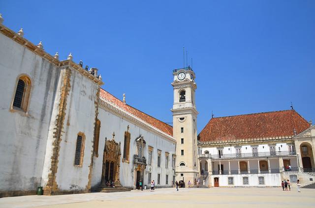 Coimbra, second city tourism, Portugal