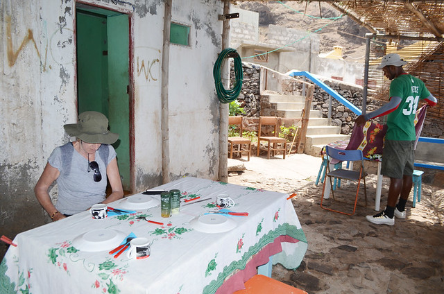 Authentic dining on Cape Verde