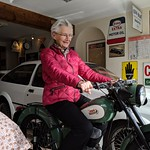 Back on a Royal Enfield Bantam after 50 years