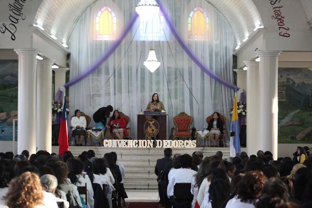 Con visita de nuestra Diaconisa se realiza Convención de Dorcas Sector 17 en Mulchén.