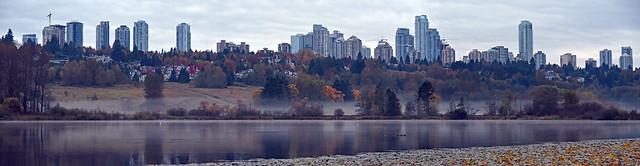 Deer Lake on Thanksgiving Day morning