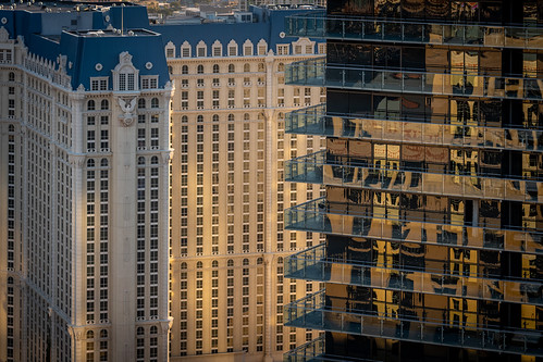 architektur architecture new old tower las vegas sunrise sonnenaufgang city hotels hotel leica m10 usa travel