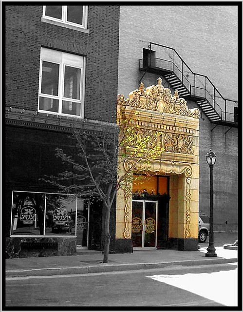 Fox Theatre  ~  Side Exit  ~ St Louis  - Missouri  - Architecture