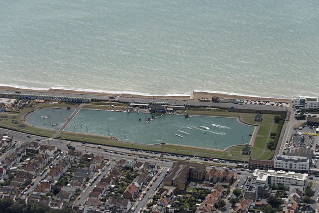 Hove Lagoon Watersports aerial image