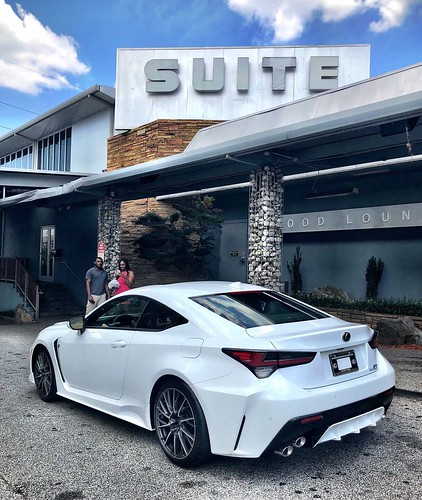 Atlanta Lifestyles: Big Tigger and the 2020 Lexus RC F Photo