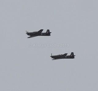 RAF Shorts Tucano's ZF287 & ZF172