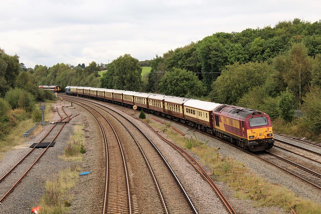 EWS - DB Cargo 67016 & 67001 - Tupton