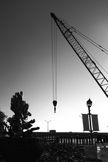 Construction daybreak