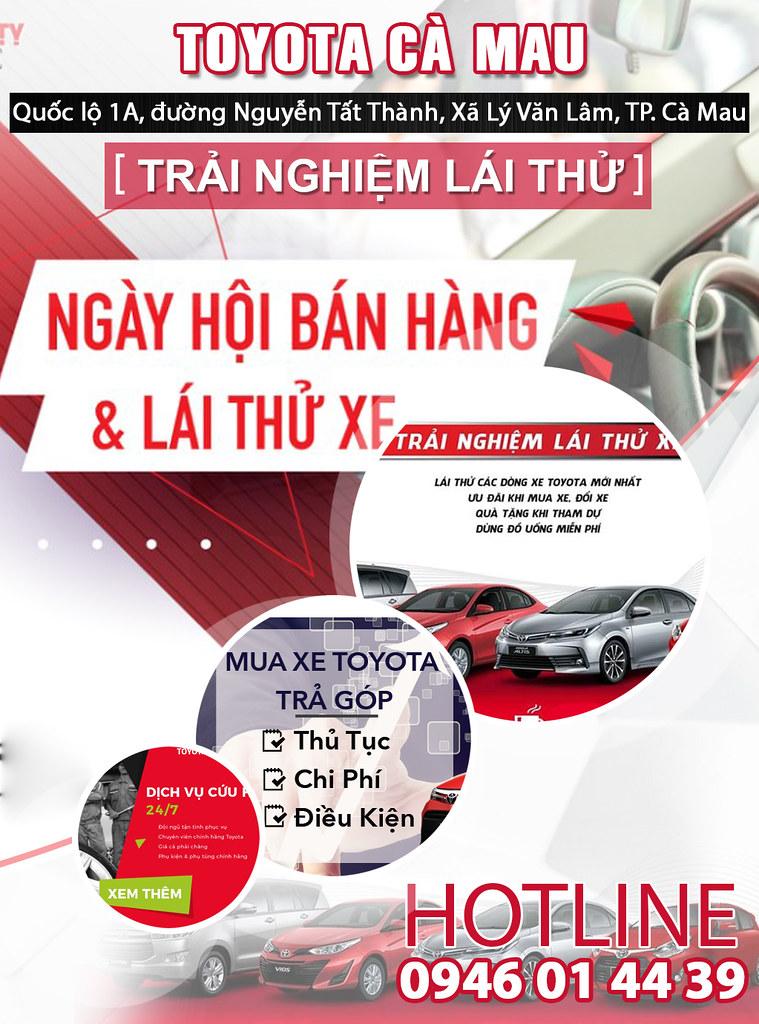 Ô Tô (Xe hơi) TOYOTA Cà Mau 0915326788