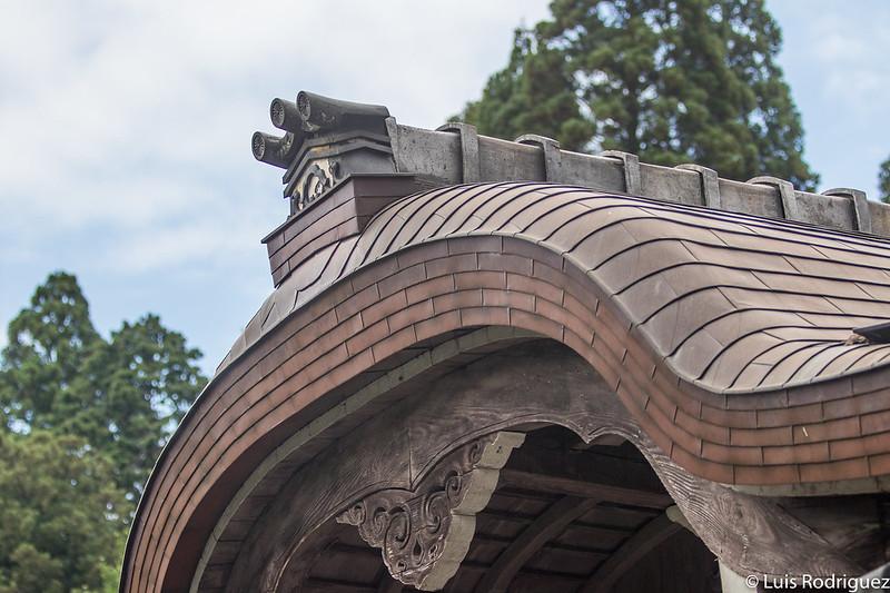 Detalles de templos de Ohara