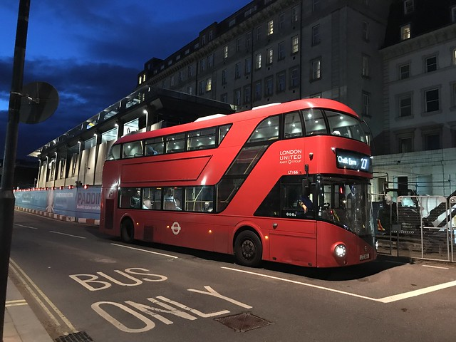 LU LT166 @ London Paddington station