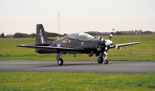 RAF Shorts Tucano T1 72 Flight Training Sqn ZF142 RAF Linton-on-Ouse (1)