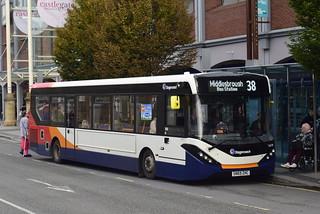 Stagecoach North East Stockton Based 26278 SN69ZHC Alexander Dennis Enviro 200 MMC