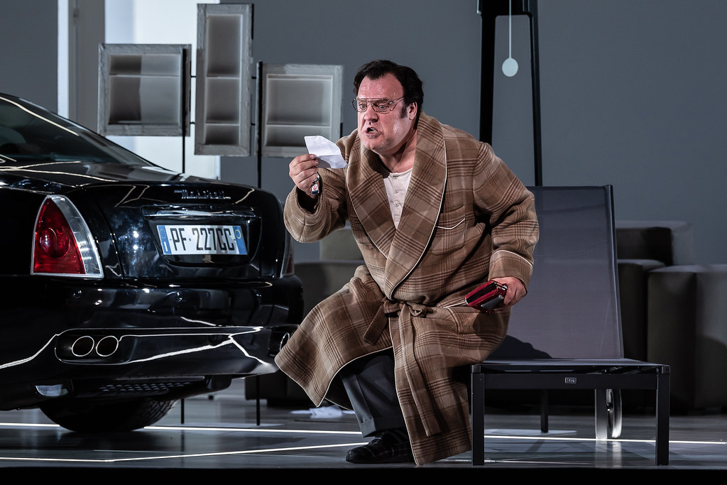 Bryn Terfel as Don Pasquale in Don Pasquale, The Royal Opera © 2019 ROH. Photograph by Clive Barda