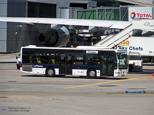 Mercedes Citaro K - Lufthansa 71 461