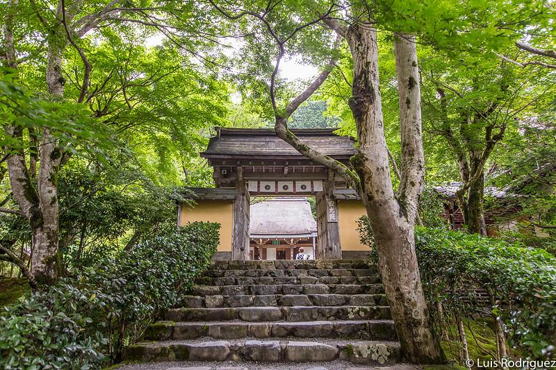 Entrada al templo Jakko-in