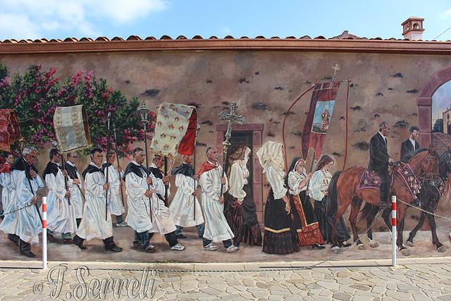 Villanova Truschedu - Murales