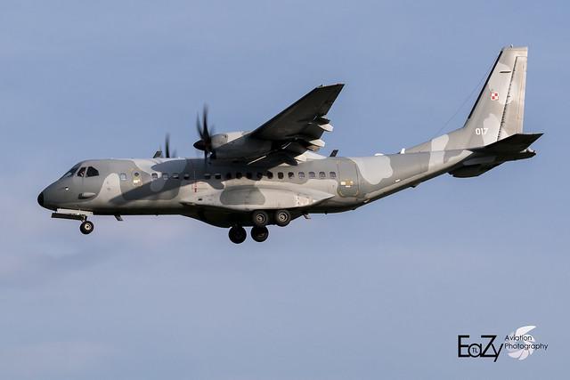 017 Polish Air Force CASA C-295M