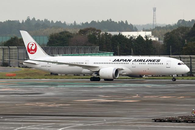JA866J  -  Boeing 787-9 Dreamliner  -  Japan Airlines  -  NRT/RJAA 8/10/19