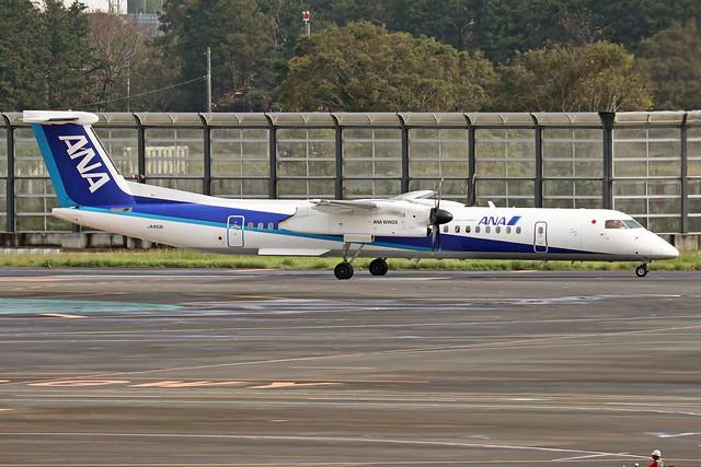 JA853A  -  Bombardier Dash 8-Q402  -  ANA Wings  -  NRT/RJAA 8/10/19