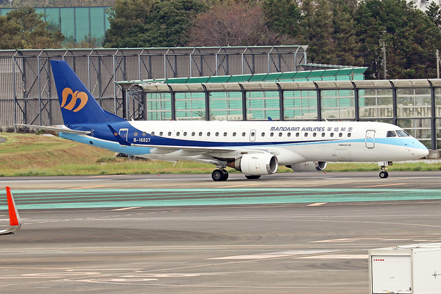 B-16827  -  Embraer ERJ-190AR  -  Mandarin Airlines  -  NRT/RJAA 8/10/19