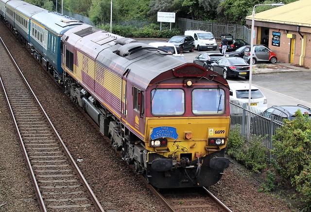 EWS - DB Cargo 66199 - Mansfield
