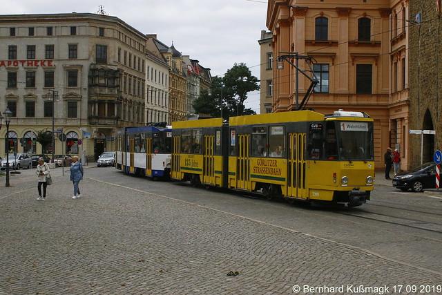 Europa, Deutschland, Sachsen, Oberlausitz, Görlitz, Demianiplatz