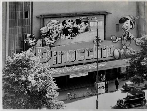 Pinocchio Cinema front