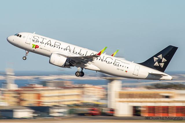 TAP Air Portugal (Star Alliance Livery) / Airbus A320-200N / CS-TVF